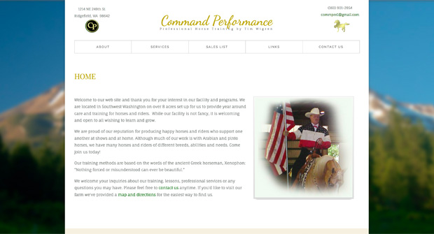Command Performance Training