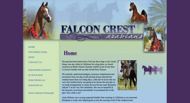 Falcon Crest Arabians