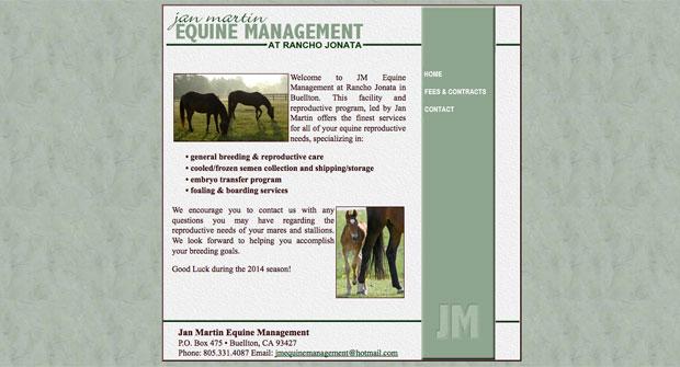 JM Equine Management
